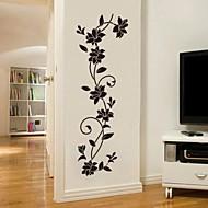 adesivos de parede jiubai flor ™ adesivo de parede videira parede decalque