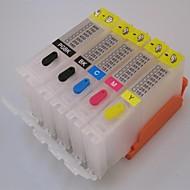 PG-550pgbk 캐논 ip7250 / mx925에 대한 CLI-551bk 551c의 551m 551y 리필 잉크 카트리지 mg5450 / mg5550 / mg6450 프린터 5 색