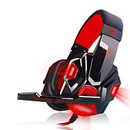 Plextone PC780 Luminous Wired Headphones Headband With Microphone Volume Control Gaming Noise-Cancelling