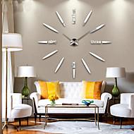 novo design moderno de alta qualidade em silêncio 3d parede DIY relógio 12s012