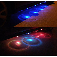 LED Car Charge 12V Glow Interior Decorative Atmosphere Light Lamp Car Exterior Decoration 8PCS