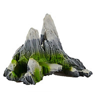 Aquarium Decoration Ornament / Rocks Artificial Plastic