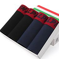 L'ALPINA® Men's Cotton Boxer Briefs 4/box - 21129