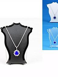 Resin Jewelry Displays(Black,White,Transparent)(1pC)