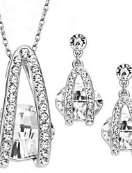 Jewelry-Necklaces / Earrings(Alloy / Zircon)Party / Daily / Casual Wedding Gifts