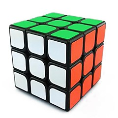Smooth Speed Cube 3*3*3 Speed Magic Cube Black ABS