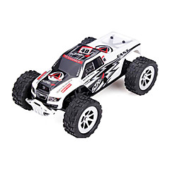 Car WLToys A999 1:24 RC Car 25KM/H 2.4G White Ready-To-GoRemote Control Car Remote Controller/Transmitter Battery Charger User Manual