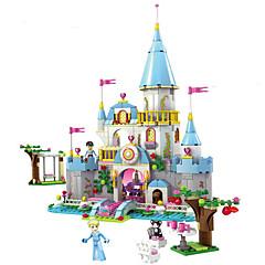 Building Block Cinderella Romantic Castle Princess Friend Blocks Minifigure Bricks Girl Sets Kids Toy