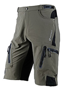 NUCKILY Bike/Cycling Shorts / Pants/Trousers/Overtrousers / Bottoms Men'sWaterproof / Breathable / Quick Dry / Waterproof Zipper /