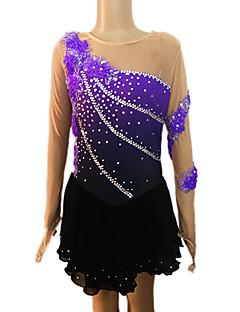 Ice Skating Dress Women's / Girl's Long Sleeve Skating Skirts & Dresses Figure Skating DressBreathable / Low-friction / Softness /