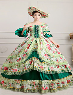 d5c217276e Egyrészes/Ruhák Gótikus Lolita Steampunk® / Viktorijanski Cosplay Lolita ruhák  Piros Nyomtatott / Régies