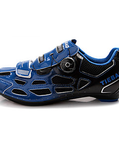 Tiebao Sneakers Cycling Shoes Unisex Anti-Slip Cushioning Ventilation Wearproof Breathable Outdoor Road Bike Cycling