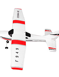 WLtoys F949 3CH 2.4G Cessna 182 Sky King 2.4G Radio Control Micro RC Airplane RTF Red/White Drone