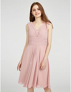 Νύφες φόρεμα νύφης φόρεμα γνήσιο φόρεμα παράνυμφος - α-γραμμή v-λαιμό συν το de23275a4e8